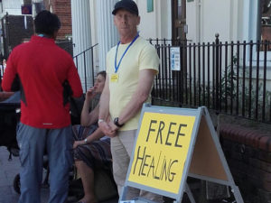 Free healing watford, main with bad back walking after prayer
