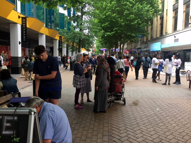 Free healing Croydon, healing on the streets, praying wtih women