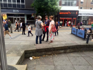 Free healing Watford, ministering on the streets with love
