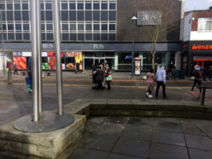 Free healing Watford, praying on the streets for everyone